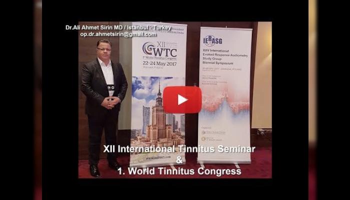 tinnitus,dünya tinnitus kongresi,r-tms tedavisi,tms,çınlama tedavisi,çınlama nasıl geçer,world tinnitus congres,çınlama,kulakta çınlama,kulak çınlamasının tedavisi,Dr. Henryk Skarzyneski,new tinnitus treatment,tinnitus treatment